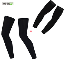WOSAWE Breathable Quick Dry Armwarmers and Legwarmers UV Protection Running Running Hiking Basketball Soccer Arm &Leg Sleeves