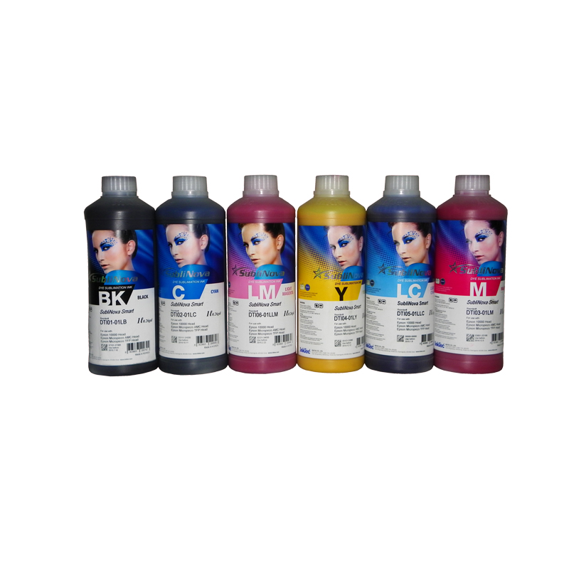 6 x 1L high quality dye based sublimation ink usd for epson 4880 9880 7880 7800 9800 7400 9400 7450 4800 4400 4450 4000 original new dx5 cap top station for epson stylus pro 7400 7450 7800 7880 9450 9800 9880 inkjet printer ink pump clean unit