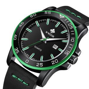 0442c866f7 WWOOR Mens Watches Top Brand Luxury Clock Relogio Masculino