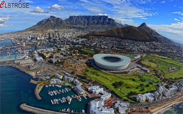 CLSTROSE Real Direct Selling Building Cape Town South Africa Buildings Stadium Mountains 4 Sizes Home Decor Canvas Poster Print