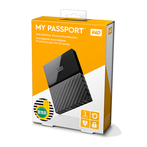 Image 4 - WD My Passport 1TB 2TB External Hard Drive Disk USB 3.0 Portable Encryption HDD HD Harddisk SATA for Laptop Notebook Windows Mac