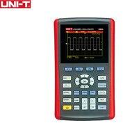 UNI T UTD1025CL 3,5 Scopemeter Ручной цифровой Цвет ЖК дисплей хранения 25 мГц мини USB осциллографы 1CH 25 мГц Сфера Метр