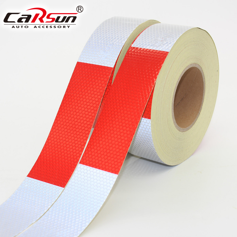 4.5cmx40m Car Reflective Tape Stickers Auto Truck Pickup Safety Reflective Material Film Warning Tape Car Styling Decoration