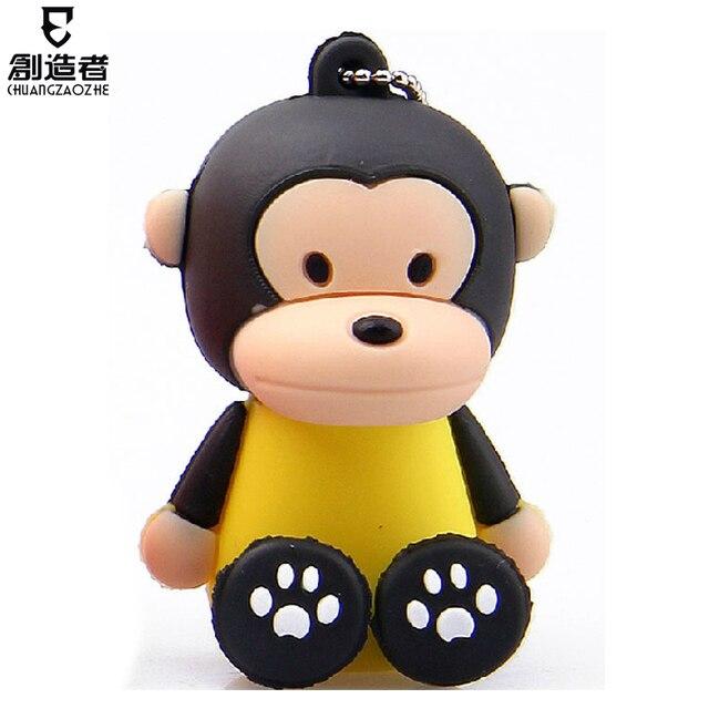 Usb flash drive 4g little monkey cartoon usb flash drive personalized usb flash drive usb flash drive