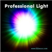 Free Shipping Top Quality Professional Light Pair Set Four Color Available Super Light Stage Magic Tricks