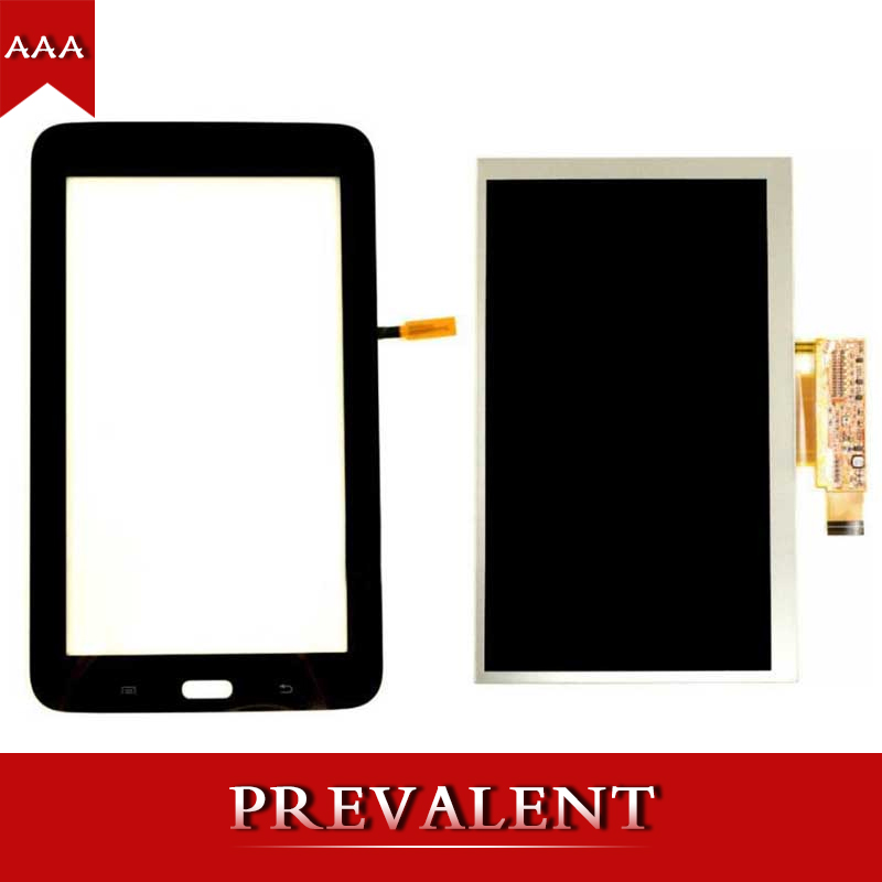 2 color For Samsung Galaxy Tab 3 Lite T116 SM-T116 Touch Screen Digitizer Sensor Glass + LCD Display Screen Panel Monitor