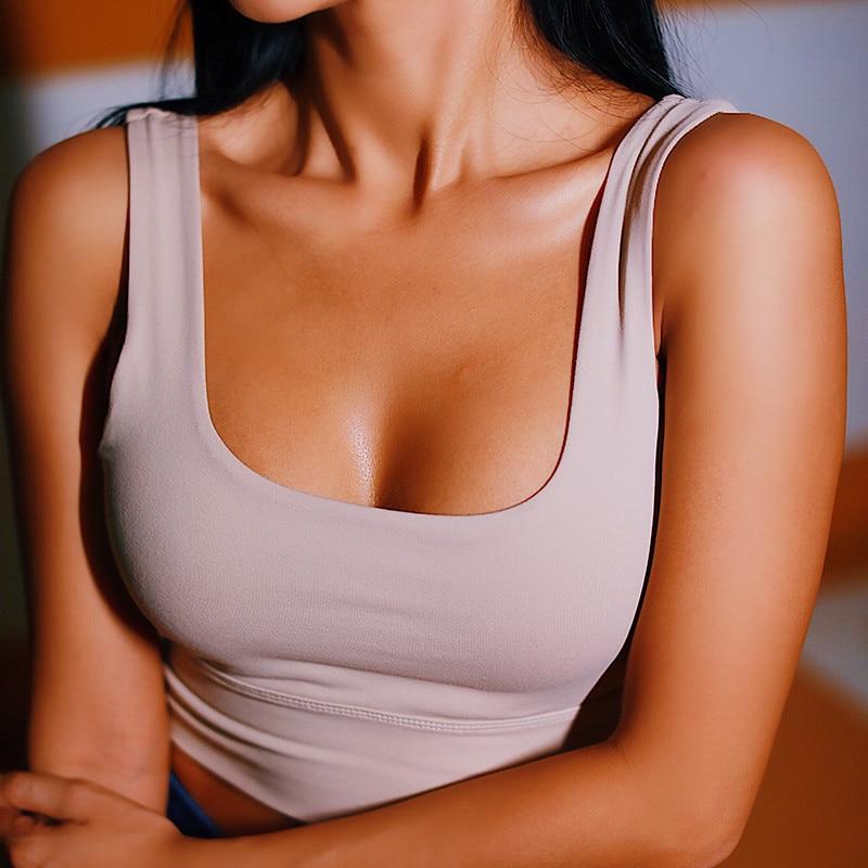 Women Push Up Seamless Sports Bra Workout Female Sport Top Crop Fitness Run Active Wear  Yoga Gym Brassiere Women's Sportswear