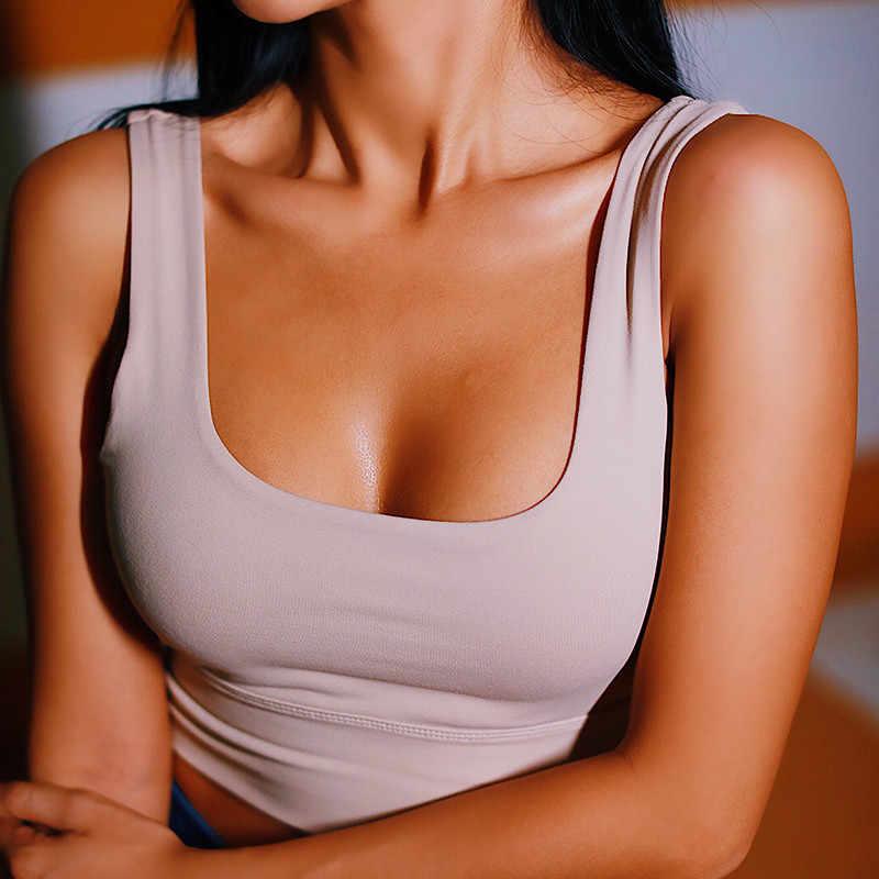 Женский бесшовный спортивный бюстгальтер пуш-ап для тренировок, женский спортивный топ, укороченный топ для фитнеса и бега, одежда для активного отдыха, спортивный бюстгальтер для йоги, женская спортивная одежда