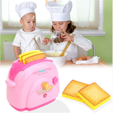 Mini Toaster Classic Toys Pretend Play Toys Home Application Furniture Toy Kitchen For Girls Boys Gift Pink 883239