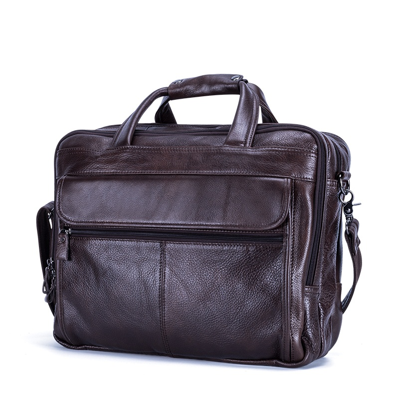 Luggage & Bags Men Backpacks Retro Crazy Horse Leather Top Layer Genuine Leather Mens Laptop Shoulder Bags Leisure Travel Backpack Brown Cool In Summer And Warm In Winter Backpacks