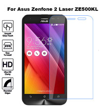 Szkło hartowane dla Asus Zenfone 2 Laser ZE500KL Screen Protector Flim szkło ochronne dla Asus Z00ED ZE ZE500 500 500KL KL