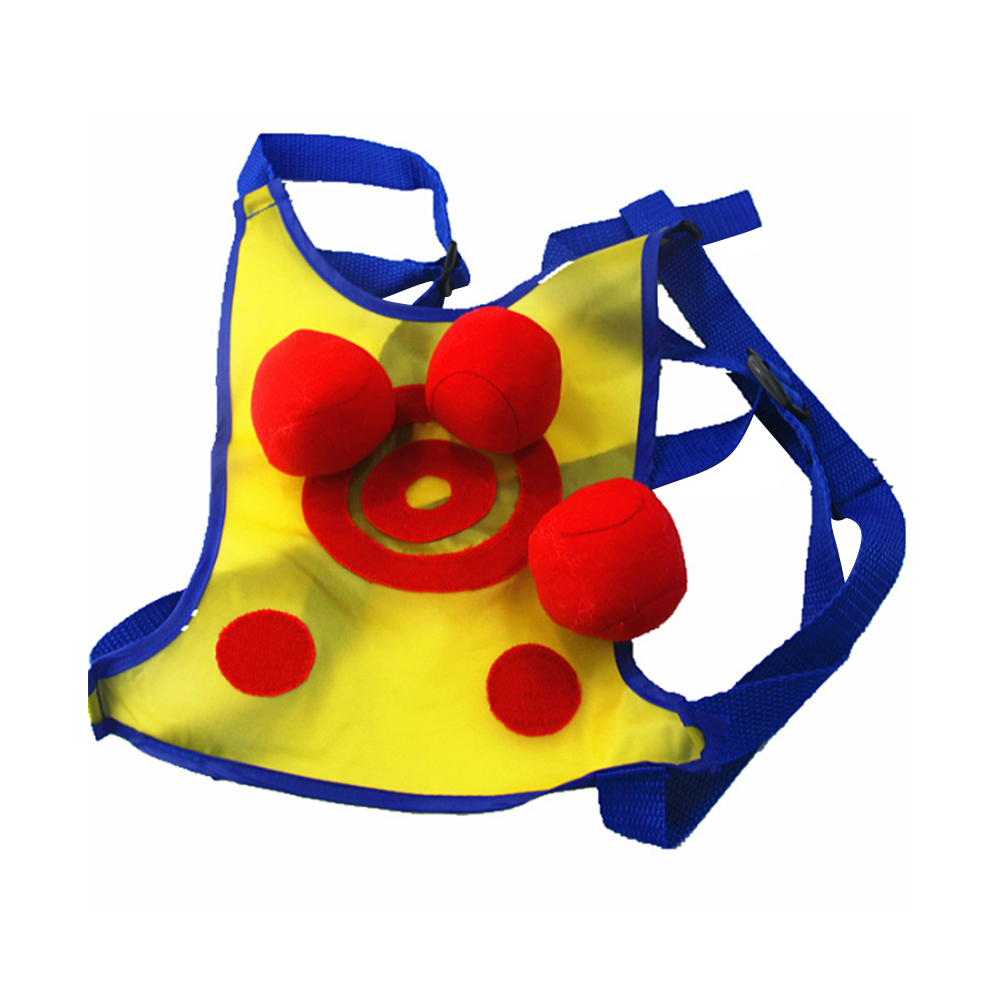 Interactive Beanbag Dodgeball Clothes Play Fun Throwing Educational Toy Parent-child Target Vest Outdoor Fun & Sports Toy Sports 3 Handballs Sets Toys Y30 Street Price