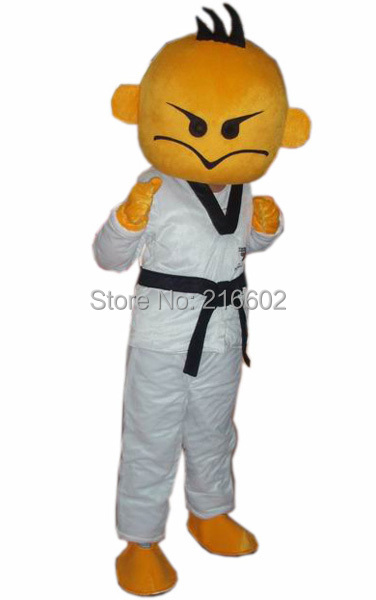 Kung fu garçon mascotte costume taille adulte kung fu garçon mascotte costume livraison gratuite