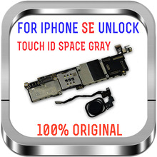 16GB/32GB/64GB For iPhone SE Motherboard,Full Working Factory Unlocked Logic Board For iPhone SE Mainboard support LTE GSM WCDMA
