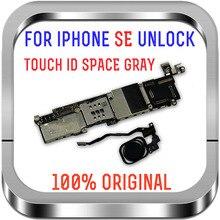 16GB/32GB/64GB dla iPhone SE płyta główna, pełna fabryka odblokowana płyta główna dla iPhone SE płyta główna wsparcie LTE GSM WCDMA