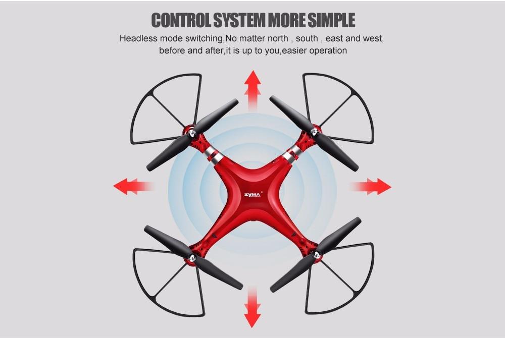 SYMA Professional UAV X8HG X8HW X8HC 2.4G 4CH RC Helicopter Drones 1080P 8MP HD Camera Quadcopter (SYMA X8C/X8W/ X8G Upgrade) 14