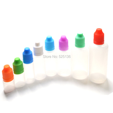 3ML 5ML 10ML 15ML 20ML 30ML 50ML 60ML 100ML 120ML Plastic Dropper Bottles With Childproof Cap,Long Thin Tip, Needle Bottles