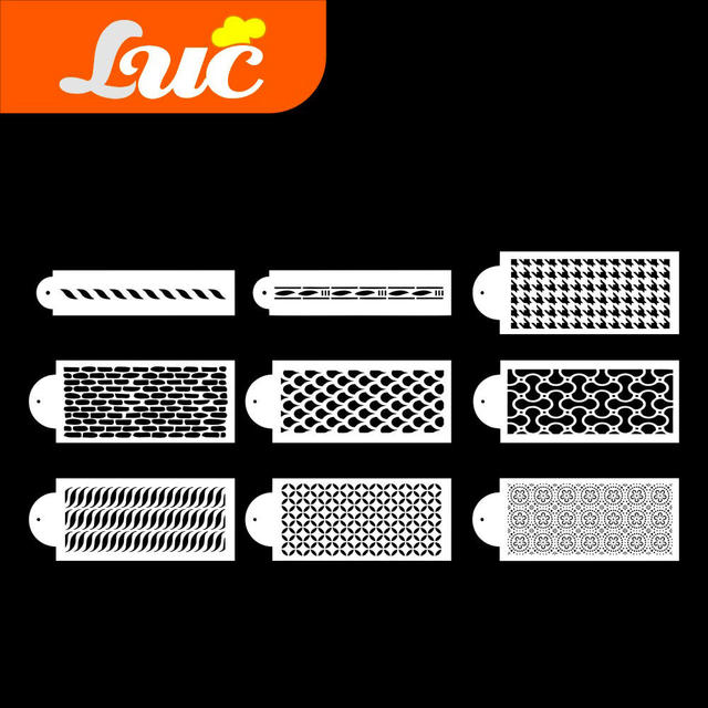 LUC Quality Products Professional Cake Decorating Tools ...