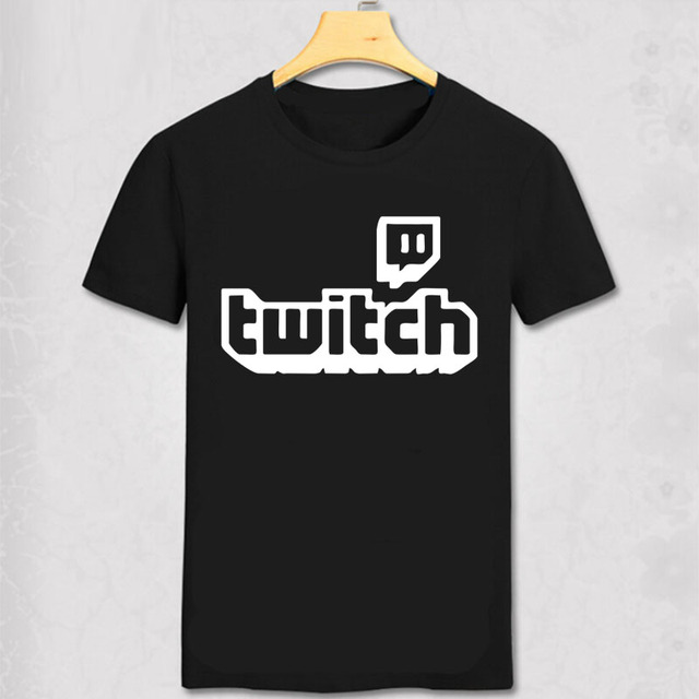 US $11 28 6% OFF|TWITCH TV T Shirt TWITCH Gamer Gaming Streaming Cotton T  shirt MLG Major League Gaming Tee Shirt-in T-Shirts from Men's Clothing on