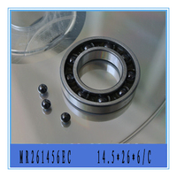 5 pieces 14.5X26X6 MR261456EC Ceramic ABEC 5 T46 Nylon Retainer Rear Engine Bearing for Rc Plane engine