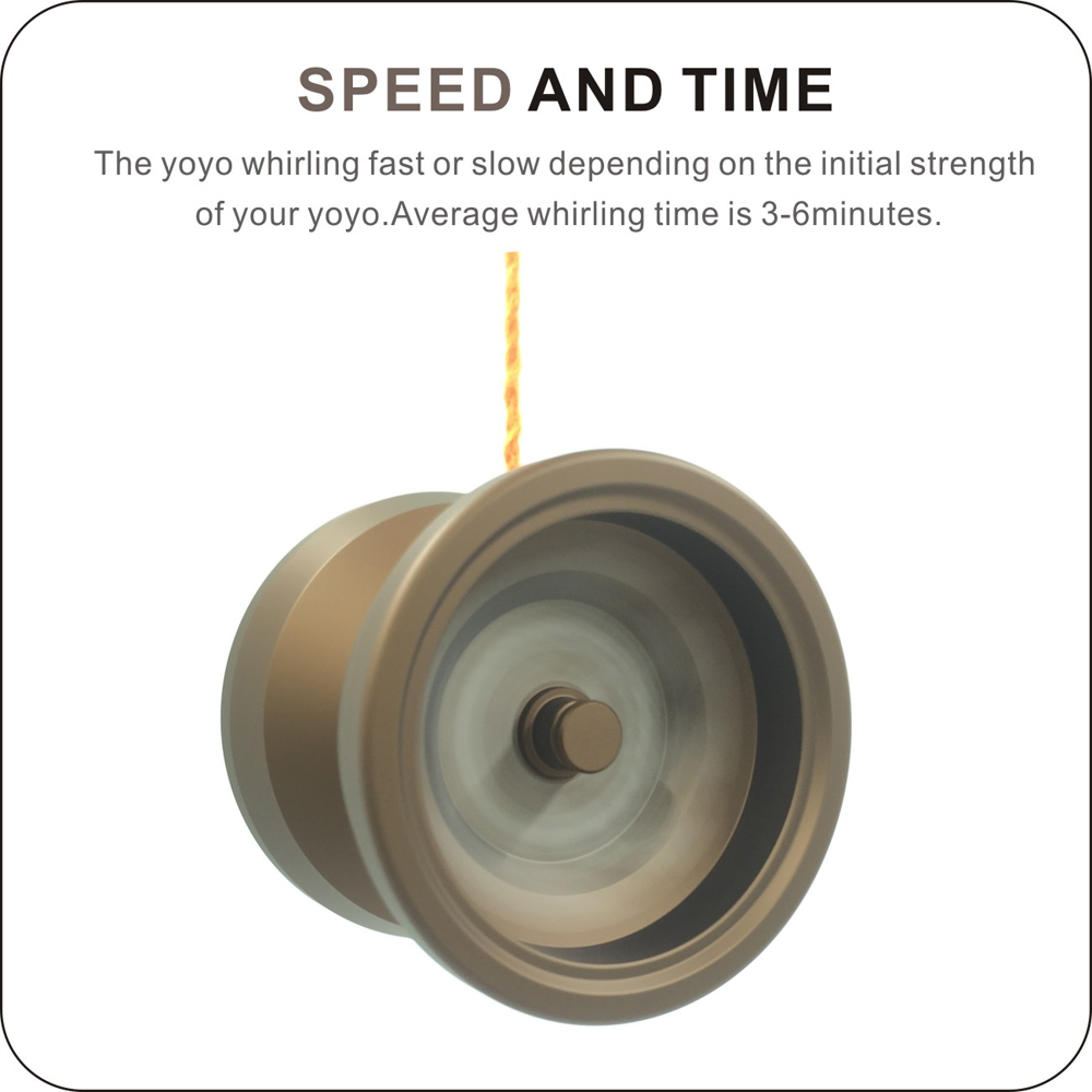 G7 Auldey Yoyo Clutch CNC Lathe Yo-yo Toy Polished Responsive Yo Yo Bearing Aluminum High Precision Game Special Props Yoyo Ball купить в Москве 2019