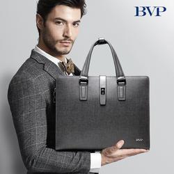 BVP известный бренд высокого качества деловой мужской портфель сумка из натуральной кожи сумка для ноутбука мужские Наплечные сумки