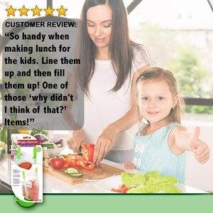 Сэндвич-пакеты, зажимные пакеты для хранения продуктов на держатель, лучший нож для морозильной камеры и хранения Baggie пластиковый кухонный ...