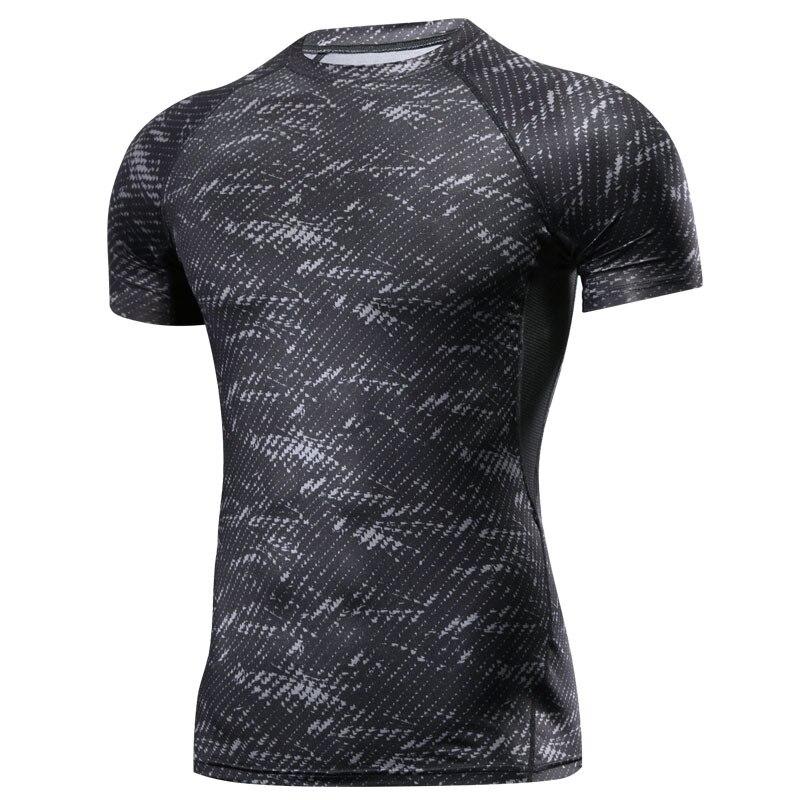 Camiseta Rashguard MMA Ginásio Camiseta Combate de boxe MMA Muay Thai Treinamento de Artes Marciais de Fitness T Shirt Homens Homme jersey