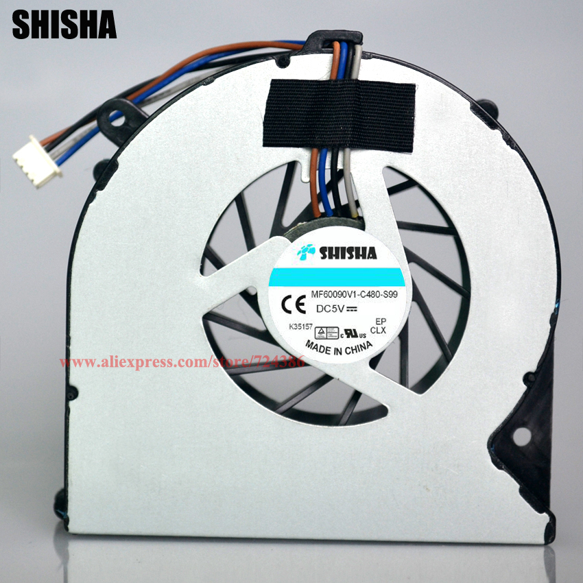 Good quality 4530S laptop fan for HP ProBook 4535S 4730S cpu cooling fan, NEW original 8460P 6460B laptop cpu cooling fan cooler renault logo pattern 2w 100lm 6000k 3 led yellow white car courtesy door decoration lights pair