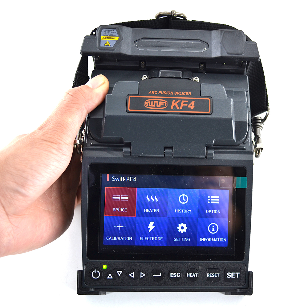<font><b>ILSINTECH</b></font> Swift KF4 optical fiber splicing machine Automatic Motor Drive Fiber Optic Fusion Splicer image