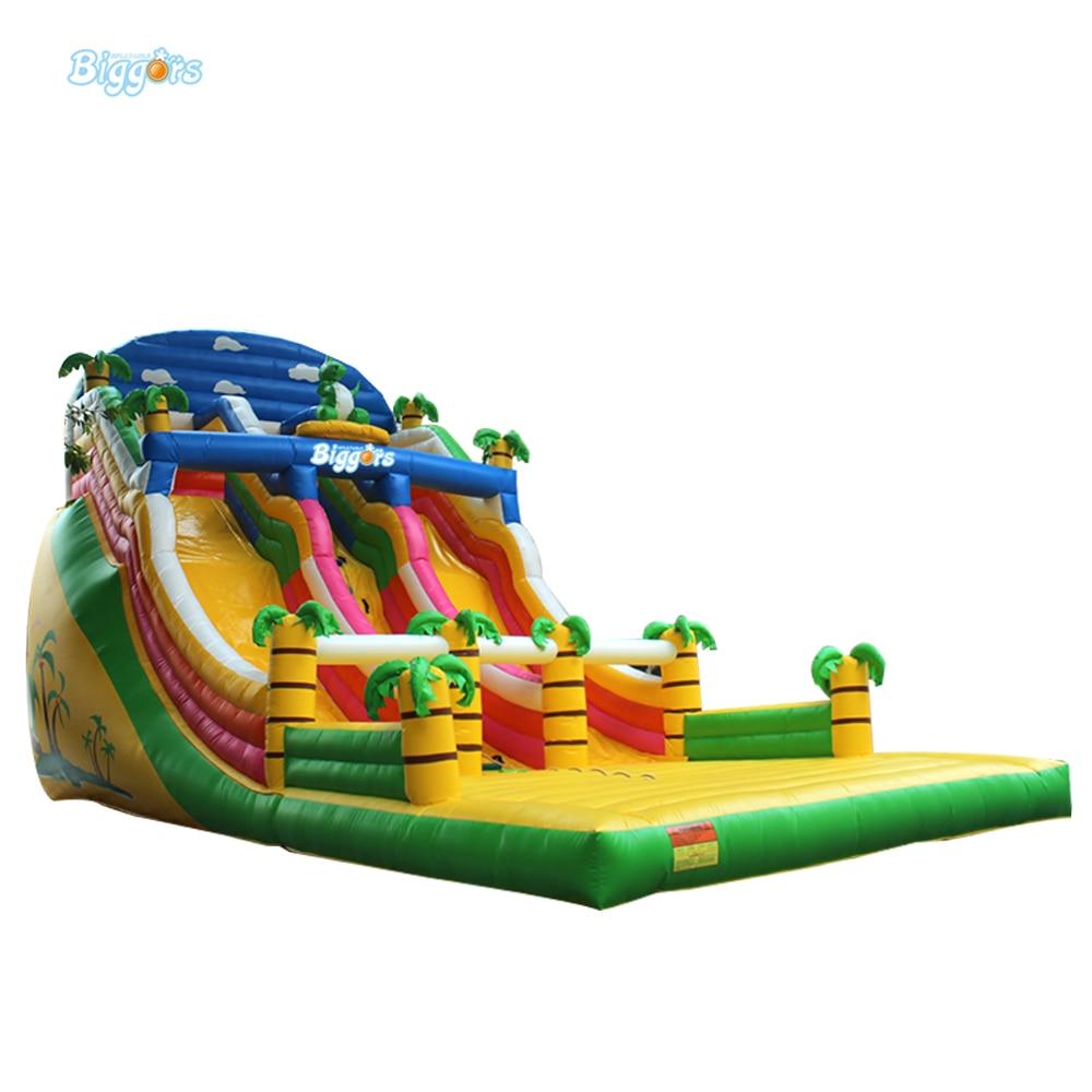 Коммерческие гигантские надувные слайд весело junglle игрушка игра для взрослых