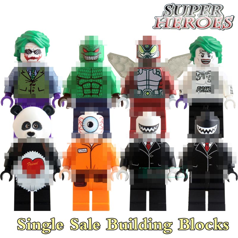 Building Blocks Model KL9008 Harley Quinn Suicide Squad Joker Batman Superhero Starwars Action Bricks Kids DIY Figures Hobbies ...