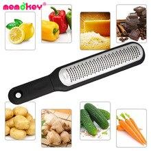 цена на Memokey Multifunction Stainless Steel Lemon Zester Fruit Peeler Cheese Zester Microplane Grater Fruit Vegetable Tool & Kitchen B