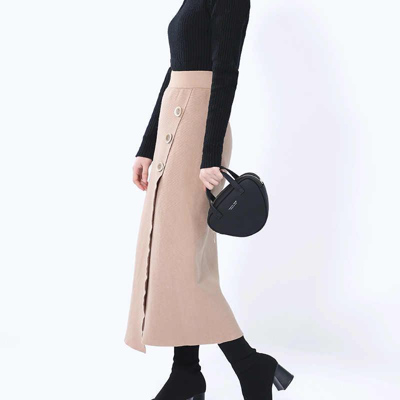 Fashion Geometris Wanita Tas Bahu Kecil Kuning Kulit Wanita Tas Kurir Selempang Wanita Tas Tangan Wanita Segitiga Bolsa