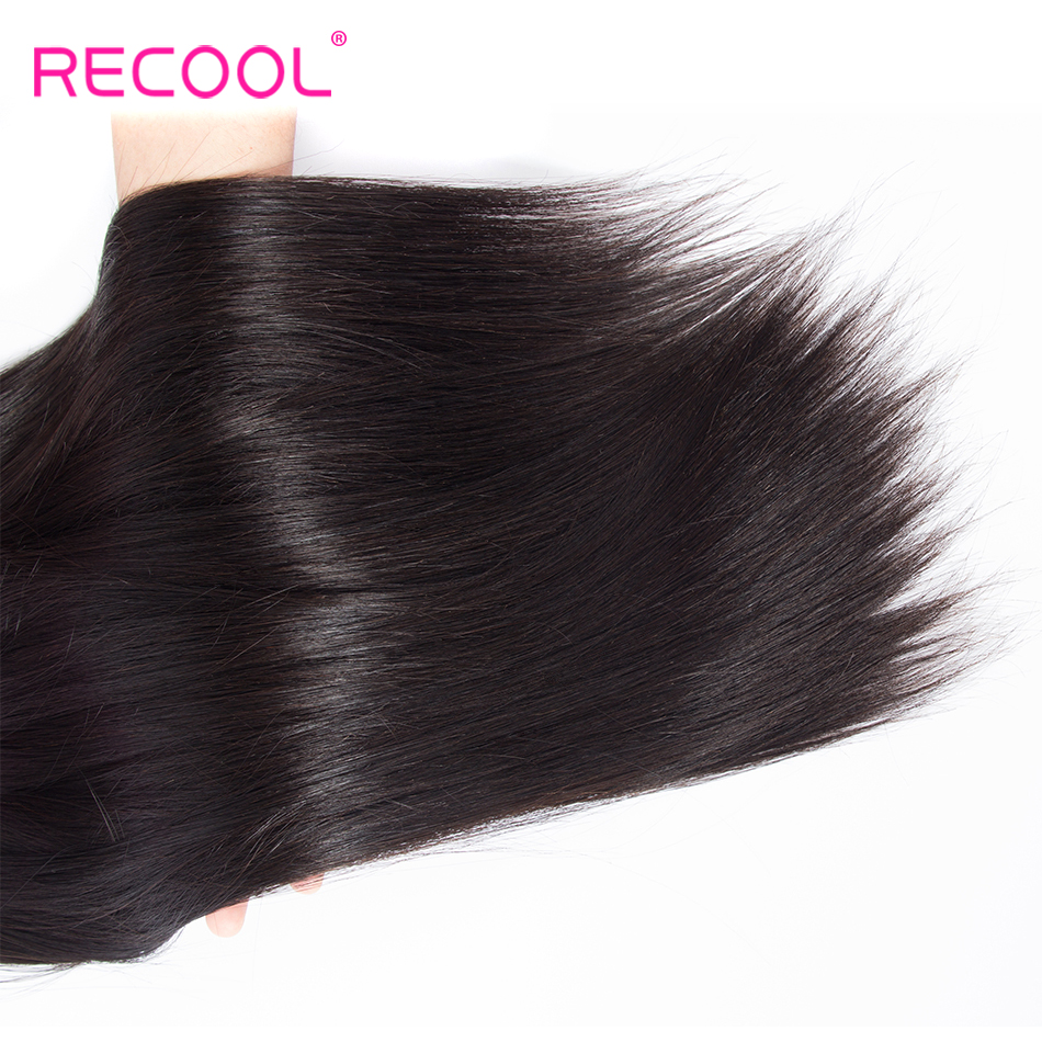 Image 5 - Recool Straight Hair Bundles 10  30 32 34 36 38 40 Inch Brazilian Hair Weave Remy Cuticle Aligned Human Hair Extension Bundles-in Hair Weaves from Hair Extensions & Wigs