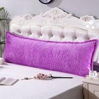 Funda de almohada doble de terciopelo de franela Jane YU 1 2/1 5/1 8 m  funda de almohada gruesa de arroz y Cachemira|Funda de almohada| |  -