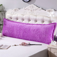 Jane YU Flannel Velvet Double Pillowcase 1.2/1.5/1.8m, Rice And Cashmere Thickened Fallow