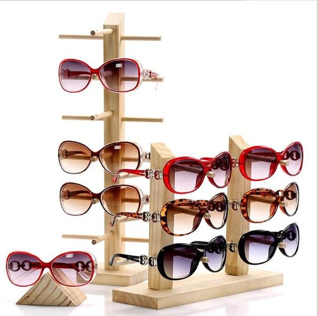 9a99018659 Estuche para gafas de sol de madera de varios tamaños, organizador de  joyas, soporte
