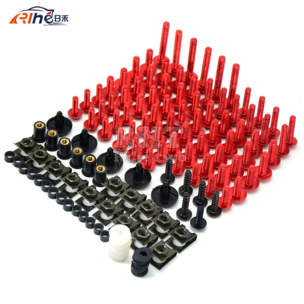 New Universal Brand CNC Motorcycle Accessories Fairing bodywork Bolts Screws for YAMAHA TDM 900 tdm900 TDM900 2006-2009 2007-08 universal windshield cnc motorcycle fairing body work fasten bolts screws for yamaha yzf r15 fz8 xsr 900 abs tdm 900 mt125