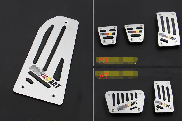 Car gas accelerator pedal, footrest and brake pedal for mitsubishi outlander asx lancer 2010-2017,car styling