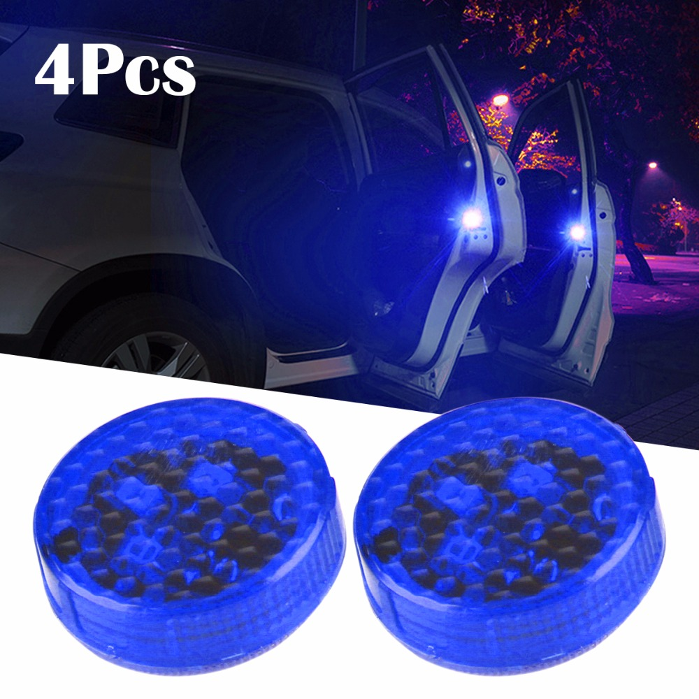 4pcs car styling led light anti collision car door light 88072