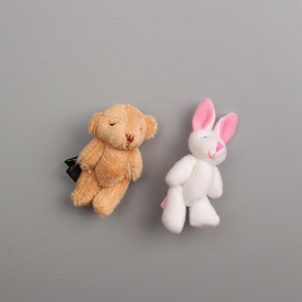 1 PCS 2017 Teddy Bear Little White Rabbit Hairpins Children s