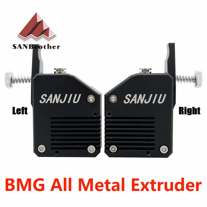 High Quality Dual Gear All Metal Bmg Extruder Bowden Dual Drive Extruder For 3d Printer Mk8 Cr-10 Prusa I3 Mk3 Ender 3High Quality Dual Gear All Metal Bmg Extruder Bowden Dual Drive Extruder For 3d Printer Mk8 Cr-10 Prusa I3 Mk3 Ender 3