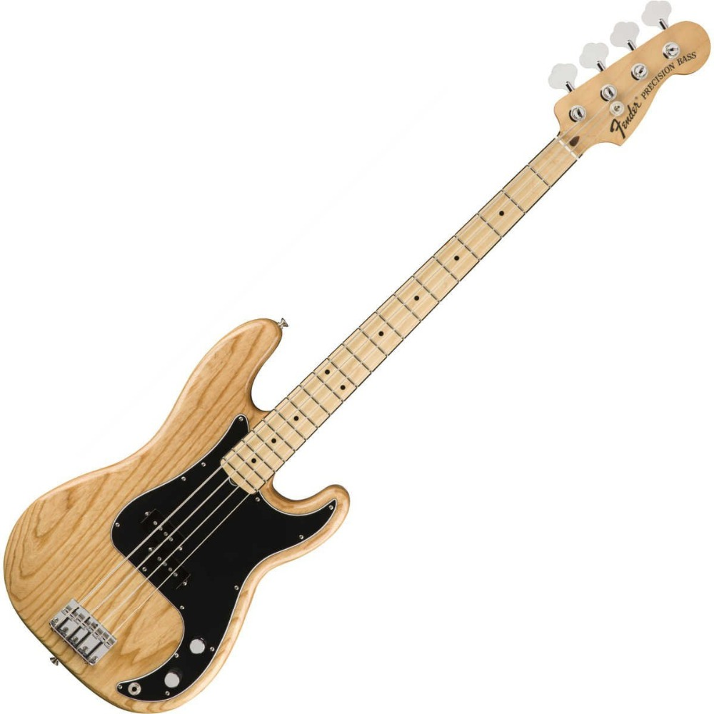 Tangwood Top Quality GYPB 6018 natural Ash wood original color black Plate 4 string Precision Bass Guitar , Free shipping