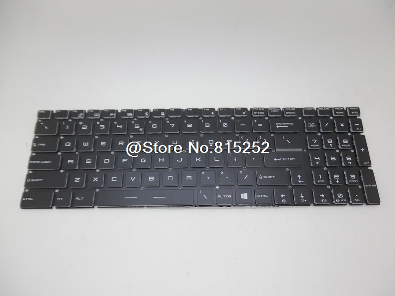 Laptop Keyboard For MSI GS60 2PL-006XCN 2PM 2QC-001JP 2QC-030JP 2QC-022XCN Japan JP Traditional Chinese TW United States US цены онлайн