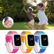 Tragbare baby kinder smart watch gsm gprs gps sos anruf location locator tracker uhr kind smartwatch anti-verlorene für ios android