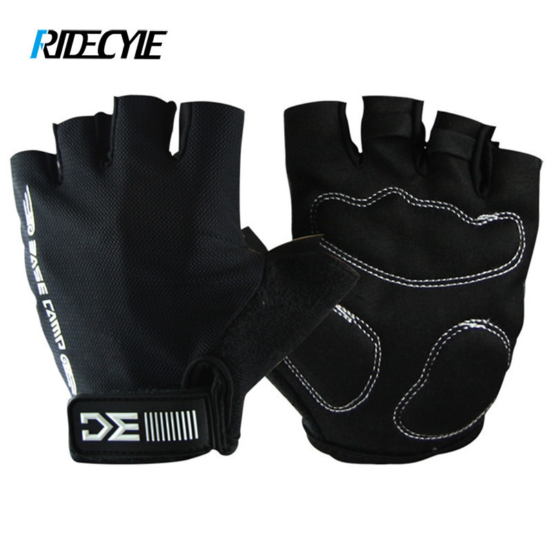 RIDECYLE Sports Gloves Cycling Gloves Breathable Washable Half Finger Riding Motorcycle MTB Bicycle Bike Gloves Shockproof цена