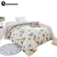 Semi Active Printing Cotton Twill Bedding Quilt Cover 100% Cotton Duvet Cover King Queen Full Twin Size 1 Pc Vintage Blend Duvet