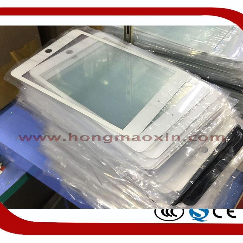 5 Pz/lotto di Alta Qualità Dello Schermo LCD Frontale Esterno Obiettivo di Vetro per iPad 6 Aria 2 Pro9.7 Screen Riparazione Piastra + OCA film Per Mistubishi