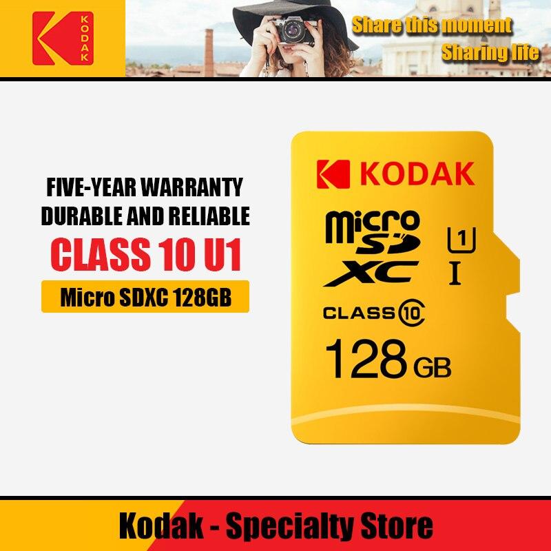 Kodak Micro Sd Card 16GB 32GB 64GB 128GB SDXC/SDHC Class 10 Flash Memory Card Micro Sd 32gb Sdcard For Smartphone/camera